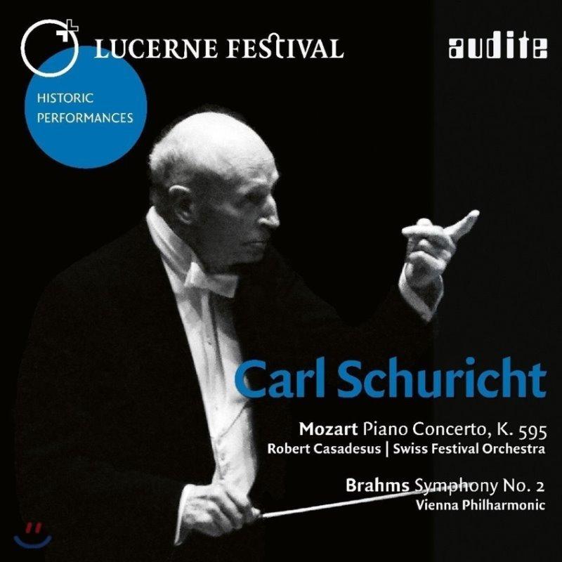 Carl Schuricht 카를 슈리히트 루체른 페스티벌 1961, 1962년 공연 - 모차르트: 피아노 협주곡 27번 / 브람스: 교향곡 2번 (Mozart: Piano Concerto K.595 / Brahms: Symphony Op.73)