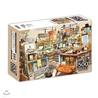 연필로 명상하기 직소 퍼즐 500조각 애니메이터 책상