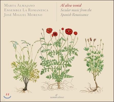 Jose Miguel Moreno 르네상스 시대의 스페인 세속 음악 - 앙상블 라 로마네스카, 호세 미구엘 모레노 (Al Alva Venid - Secular Music From The Spanish Renaissance)