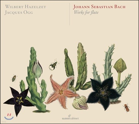 Wilbert Hazelzet 바흐: 무반주 첼로 모음곡, 파르티타 [플루트 연주반] - 빌베르트 하젤젯, 자크 오흐 (J.S. Bach: Works For Flute BWV525-528, 583 & 587, BWV 1007-1009, 1013)