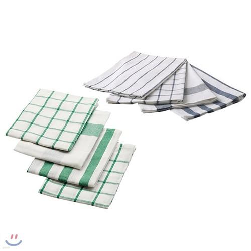 이케아 ELLY tea-towel 4P세트