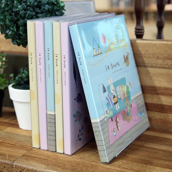 [르슈크레] 르슈크레 정품 접착식앨범/포토앨범/사진첩/포토북