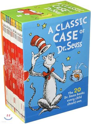 닥터수스 클래식 케이스 시리즈 원서 20권 세트 : Dr Seuss a Classic Case Series 20 Books Set