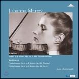 Johanna Martzy 요한나 마르치의 슈베르트 / 베토벤: 론도, 바이올린 소나타 '봄' 외