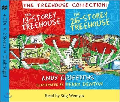 13 Storey & 26 Storey Treehouse CD Set (영국판) : 13층, 26층 나무집 오디오 북