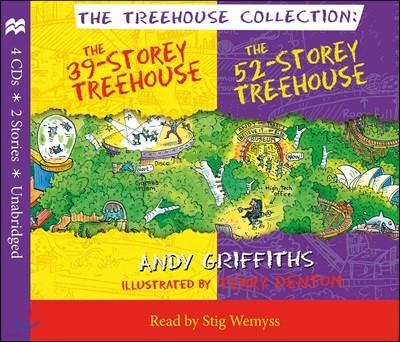 39-Storey & 52-Storey Treehouse CD Set (영국판) : 39층, 52층 나무집 오디오북