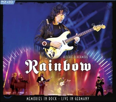 Ritchie Blackmore's Rainbow - Memories In Rock: Live In Germany 리치 블랙모어스 레인보우 2016년 독일 라이브 블루레이