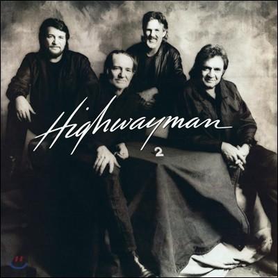 Cash, Nelson, Jennings, Kristofferson (캐쉬, 넬슨, 제닝스, 크리스토퍼슨) - Highwayman 2 [LP]