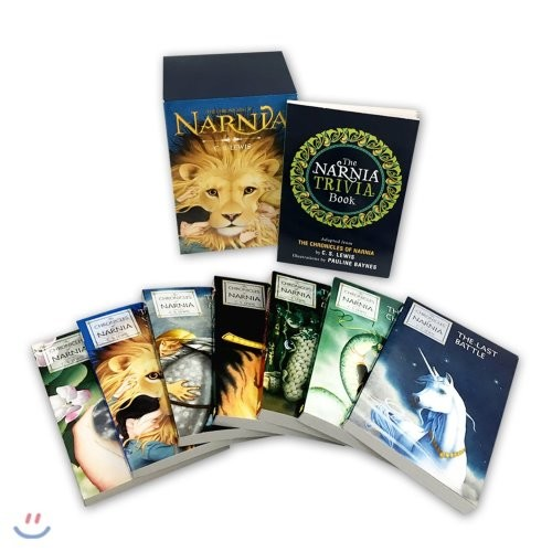 The Chronicles of Narnia 8-Book Box Set(1~7+Trivia book)
