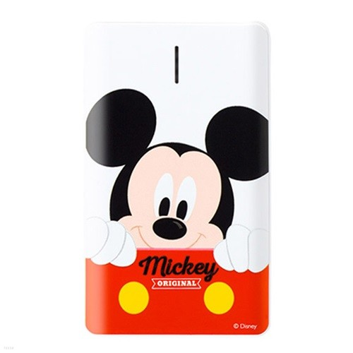 디즈니 컬러 보조배터리 4500mAh 5핀 8핀 C타입