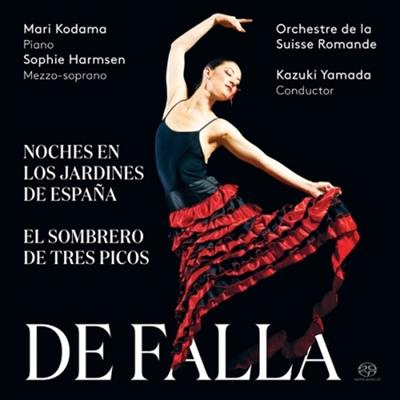 파야: 스페인 정원의 밤 & 삼각모자 (Falla: Noches En Los Jardines De Espana & El Sombrero De Tres Picos) (SACD Hybrid) - Kazuki Yamada