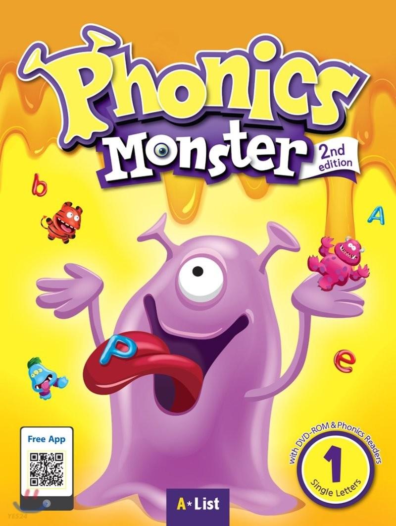 Phonics Monster 1 : Student Book, 2/E