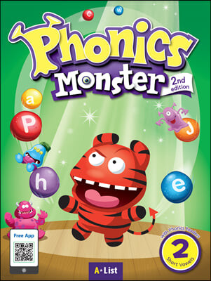 Phonics Monster 2 : Student Book, 2/E