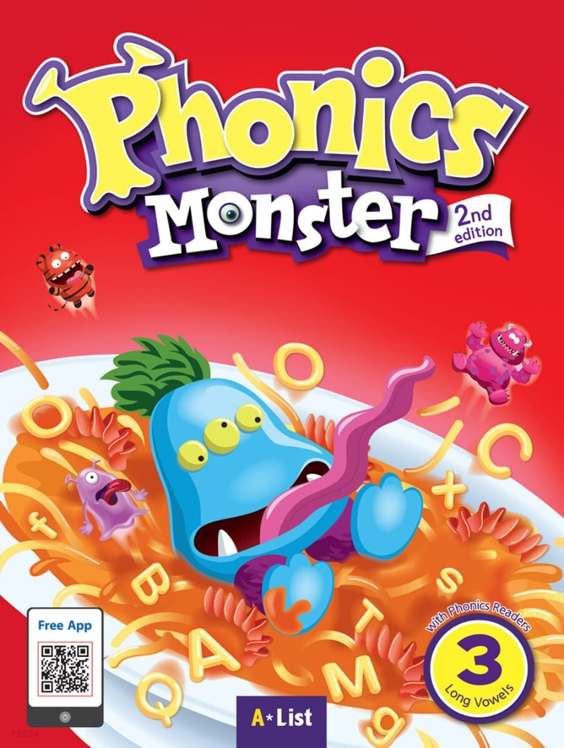 Phonics Monster 3 : Student Book, 2/E