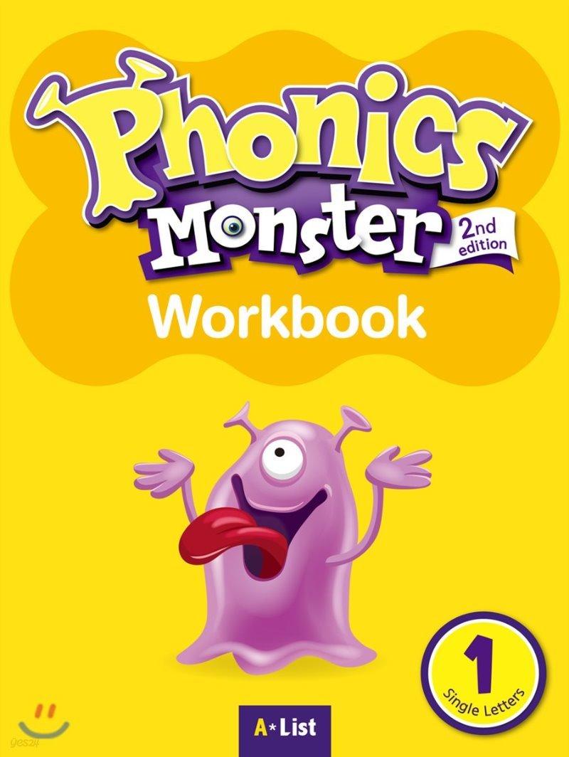 Phonics Monster 1 : Work Book, 2/E