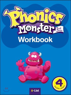 Phonics Monster 4 : Work Book, 2/E