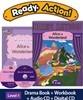 Ready Action Level 4 : Alice in Wonderland (SB+WB+Audio CD+Multi CD)