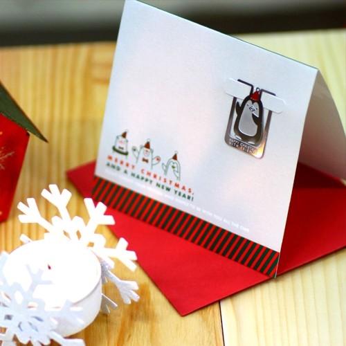 [크리스마스 카드] 북극친구들의 성탄절 - 성탄절에는 주위분들에게 카드를 보내보세요~