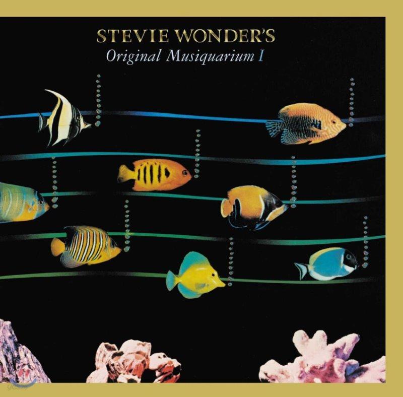 Stevie Wonder - Original Musiquarium 스티비 원더 베스트 앨범 [2LP]