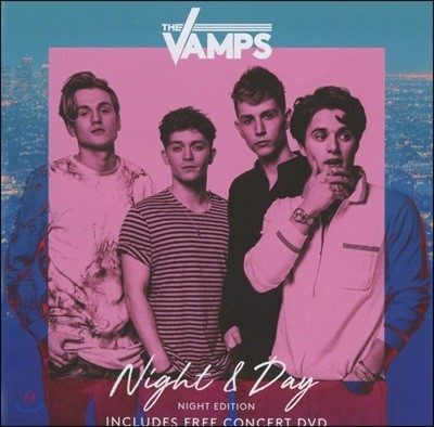 The Vamps (더 뱀프스) - Night & Day (Night Edition) 3집 [CD+DVD]