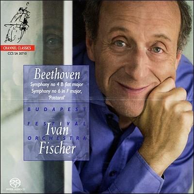 Ivan Fischer 베토벤: 교향곡 4번, 6번 `전원` (Beethoven: Symphonies Nos. 4 & 6) 이반 피셔