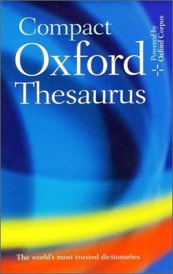 Compact Oxford Thesaurus, 3/E
