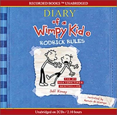Diary of a Wimpy Kid #2 : Rodrick Rules (Audio CD)
