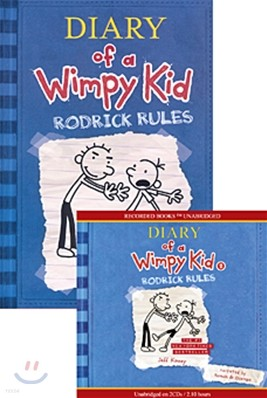 Diary of a Wimpy Kid #2 : Rodrick Rules (Book & CD)