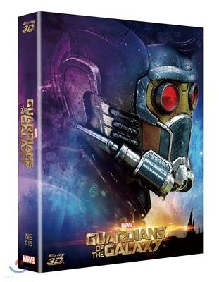 가디언즈 오브 갤럭시 (스틸북 한정판 풀슬립 A) : 블루레이