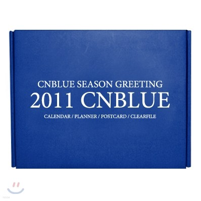 """씨엔블루 시즌 그리팅 """"2011 CNBLUE"""""""