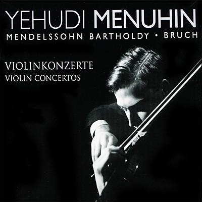 멘델스존 / 브루흐 : 바이올린 협주곡 - 메뉴인