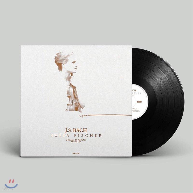 Julia Fischer 바흐: 솔로 바이올린을 위한 소나타와 파르티타 - 율리아 피셔 [3LP]