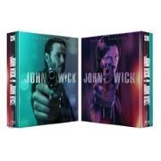 존 윅 1,2 (2Disc 렌티큘러 합본팩 1,000장 한정판) : 블루레이