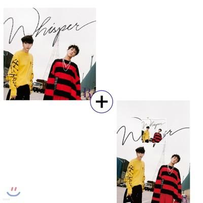 빅스 LR (VIXX LR) - 미니앨범 2집 : Whisper + 스마트 뮤직 앨범(키노앨범) / 2종 SET