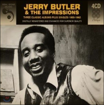 Jerry Butler & The Impressions (제리 버틀러 & 임프레션스) - 3 Classic Albums Plus Singles 1958-1962