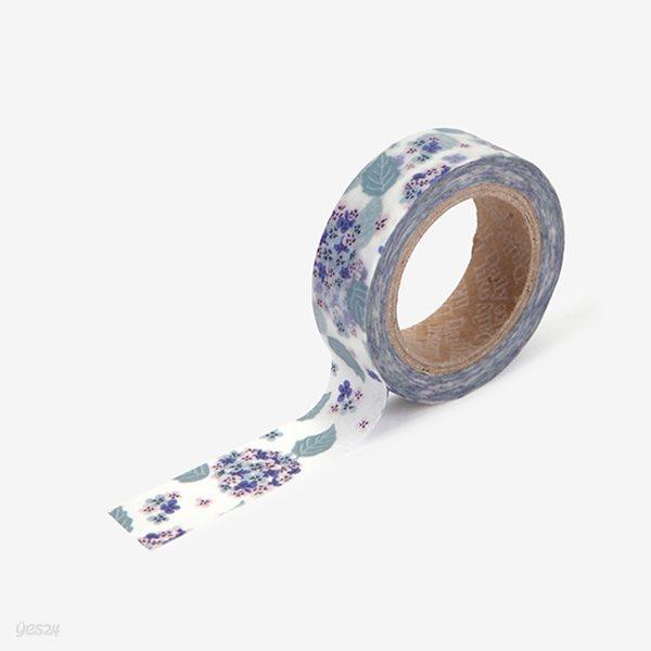 Masking tape single - 105 Hydrangea