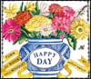 Happy Day (Uplifting Editions): A Bouquet in a Book