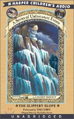 A Series of Unfortunate Events #10 The Slippery Slope : Audio Cassette