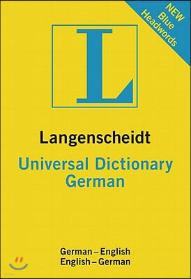 Langenscheidt Universal German Dictionary