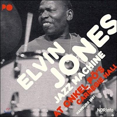 Elvin Jones / The Jazz Machine (엘빈 존스 / 재즈 머신) - At Onkel PO's Carnegie Hall Hamburg 1981 [2LP]