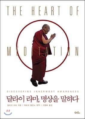 달라이 라마, 명상을 말하다