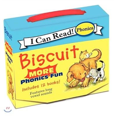 [I Can Read] Biscuit More Phonics Fun Box Set