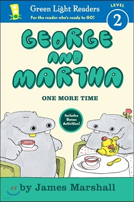Green Light Readers Level 2 : George and Martha One More Time