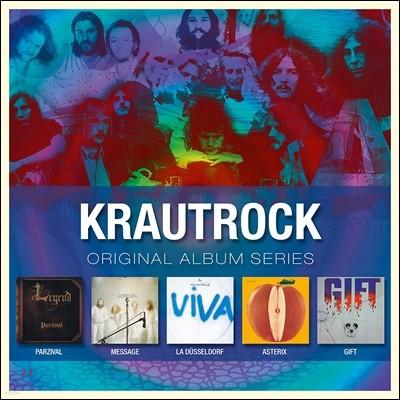 Krautrock - Original Album Series Vol. 1 크라우트록 오리지널 앨범 시리즈 1집 (Deluxe Edition)