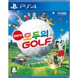 PS4 New 모두의 골프 한글판 / 초회판(토끼코스튬)