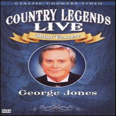 George Jones - Country Legends Live Mini Concert (DVD)