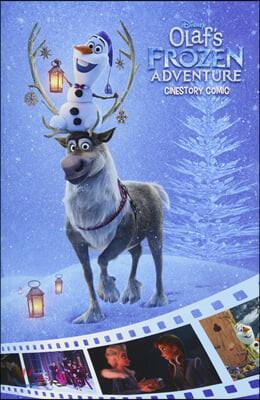 디즈니 시네스토리 코믹 : 겨울왕국 올라프의 모험 Disney Olaf's Frozen Adventure Cinestory Comic