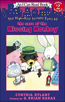 [I Can Read] Level 2 : The High-Rise Private Eyes #1: The Case of the Missing Monkey