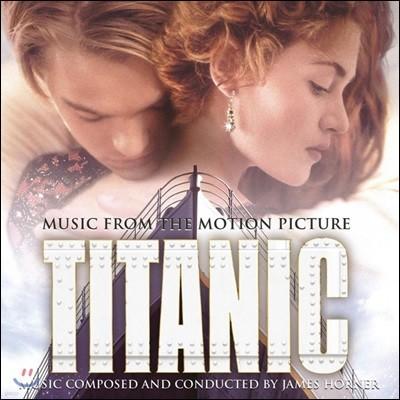 타이타닉 영화음악 (Titanic OST) [블랙 디스크 일반반 2LP]