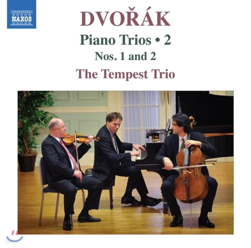 Tempest Trio 드보르작: 피아노 삼중주 2집 - 1번, 2번 (Dvorak: Piano Trios Vol.2 - Op.21 B.51 & Op.26 B.56) 템페스트 트리오